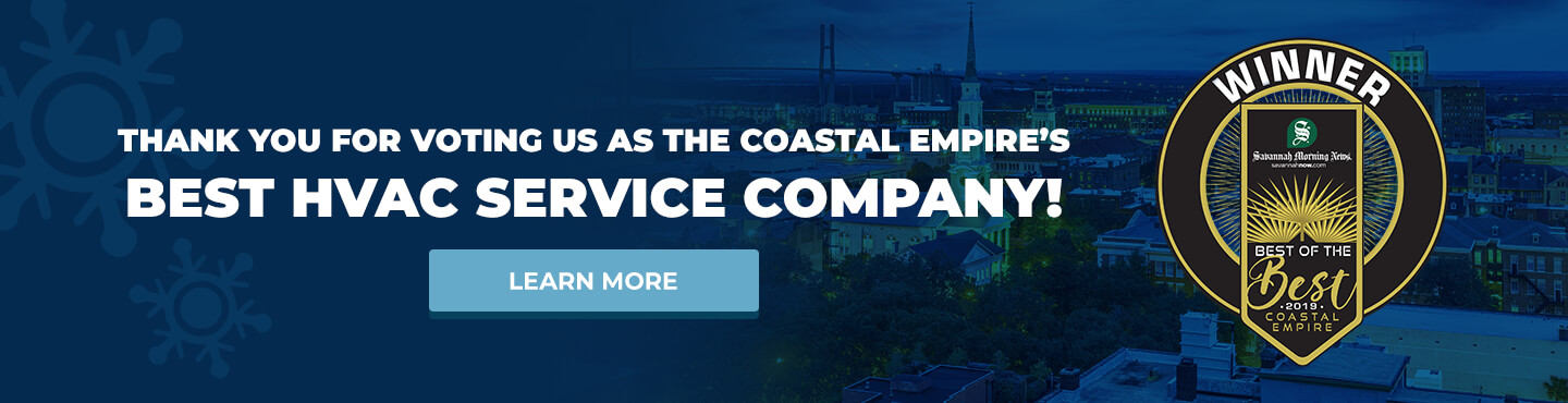 2019 Coastal Empire Best of the Best Award Winner - Savannah, Georgia